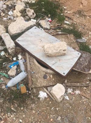 """مصائد الموت في خريبة السوق بانتظار تحرك أمين عمان! """"صور"""""""
