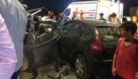 إصابتان بتدهور مركبة على طريق اربد عمان