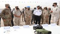 الجيش يتسلم أجهزة عسكرية من امريكا