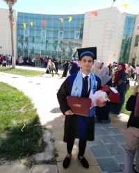مبارك التخرج لـ علاء العتال