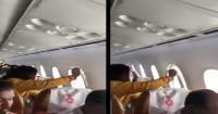 رعب في طائرة انكسرت نافذتها بين السحب (فيديو)