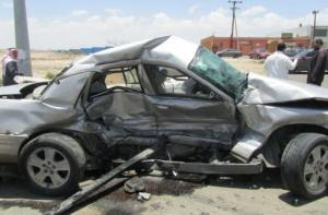 إصابة 7 أشخاص بتصادم 3 مركبات في عمان