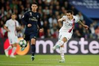 فوز باريس سان جيرمان على مدريد بثلاثية دون مقابل