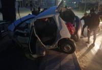 وفاة طفلة وإصابة 4 بتدهور مركبة في معان