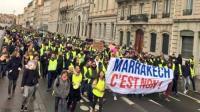 """""""السترات الصفراء"""" ينزلون إلى الشوارع في فرنسا"""