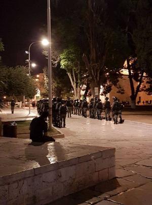 الاحتلال يقتحم الأقصى مجددا ويعتقل المعكتفين داخله (صور)