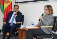 """سفيرة اسبانيا في محاضرة بـ""""عمان العربية"""" تؤكد دعم بلادها لحل الدولتين"""