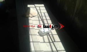 زجاجات خمر وفضلات بشرية تنتهك حرمة الاموات في كفرنجه (صور)