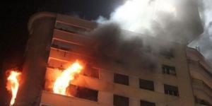 4 اصابات بحريق شقة في الزرقاء