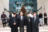 جامعة الشرق الأوسط تحتفل بأعياد الميلاد المجيدة
