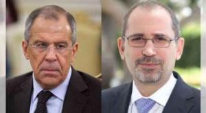 الصفدي ونظيره الروسي يؤكدان على تعزيز التهدئة السورية