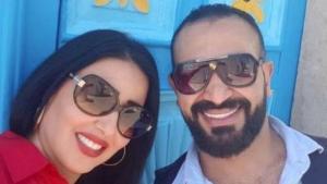 تفاصيل قصة حب وزواج أحمد سعد وسمية الخشاب