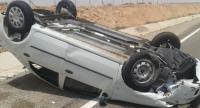4 اصابات بتدهور مركبة في مادبا