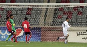 النشامى يستقبلون منتخب كمبوديا بـ 7 أهداف
