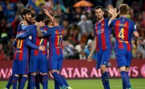 برشلونة يسحق أوساسونا بسباعية