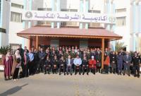 المصري يلتقي المشاركين ببرنامج الماجستير بأكاديمية الشرطة