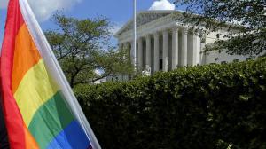 أول زواج رسمي لجنديين مثليين في امريكا !
