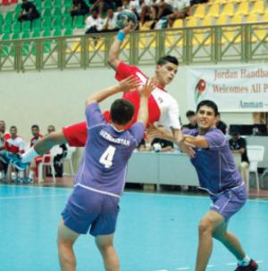 فوز منتخب اليد الشاب على اوزبكستان