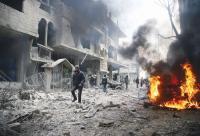 تواصل القصف في الغوطة الشرقية لليوم الخامس