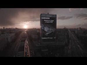 سامسونغ تروج لـ Galaxy S7 بإقامة نسخة منه بحجم بناء في موسكو
