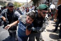 """أوضاع كارثية يمر بها الأسرى الأطفال المنقولون لمعتقل """"الدامون"""""""