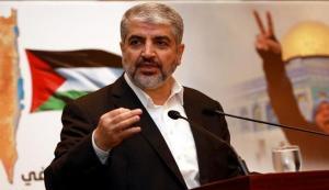 """مشعل يعلن شروط """"حماس"""" لوقف التصعيد"""