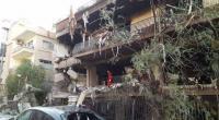 شهيدان بقصف الإحتلال منزل قيادي فلسطيني بدمشق