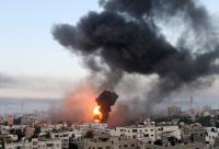 أكثر من 300 غارة صهيونية على غزة