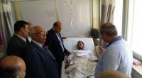 وفد من جمعية مستثمري الاسكان يزور جرحى غزة (صور)