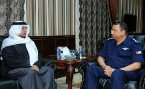 الحواتمة يلتقي السفير الإماراتي