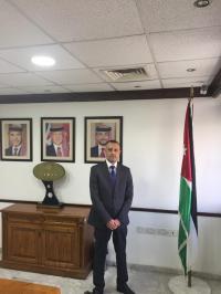 تهنئة ومباركة للدكتور عرفان الخصاونة مدير المنطقة الحرة الأردنية السورية