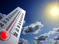 ارتفاع على درجات الحرارة الإثنين