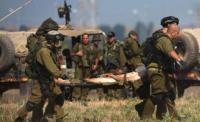 اصابات بين الجنود الصهاينة بانفجار بوحدة هندسة جنوب غزة
