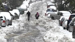 """""""طقس العرب"""": تراكمات للثلوج فوق الـ 900 متر عصر الاربعاء"""