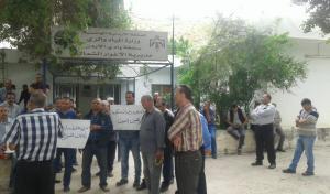 موظفو سلطة وادي الأردن : احتجاجاتنا مستمرة