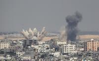 الإحتلال يقصف مقر الهيئة المستقلة لحقوق الإنسان بغزة