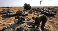 الاحتلال يحشد جيشه على حدود غزة