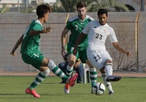 تعادل جديد بين الأولمبي وضيفه العراقي