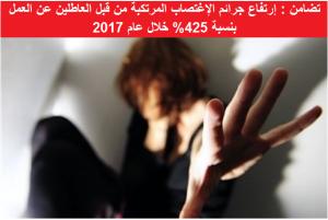 إرتفاع جرائم الإغتصاب المرتكبة من قبل العاطلين عن العمل في الاردن