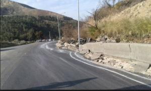 اعادة تأهيل تحويلة طريق عمان - جرش