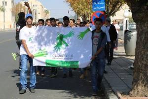 """مسيرة تأييد لمبادرة """" فزعة أهل """" (صور)"""