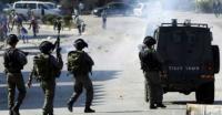 اصابات خلال مواجهات مع الاحتلال في الخليل