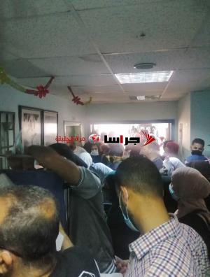 هذا ما يجري بعيادات مستشفى الأميرة بسمة (صور)