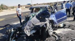 وفاة و 3 إصابات لحادث معتمرين على الطريق الصحراوي