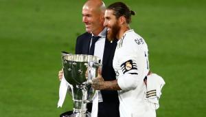 رئيس ريال مدريد يعلق على رحيل زيدان وراموس