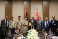 """تعزيز مجالات التعاون بين """"الشرق الأوسط"""" وكلية الدفاع الوطني الملكية"""