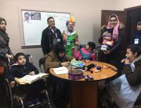 """الإحتياجات الخاصة في """"الشرق الاوسط"""" يلتقي اطفال مركز """"اية"""""""