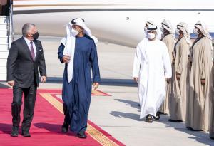 بن زايد : حريصون على تعزيز علاقاتنا مع الأردن