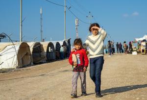 40 % من اللاجئين السوريين بالأردن تلقوا اللقاح
