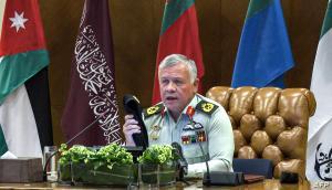 الملك : تعرضنا لهجمات بطائرات ايرانية مسيرة سابقا